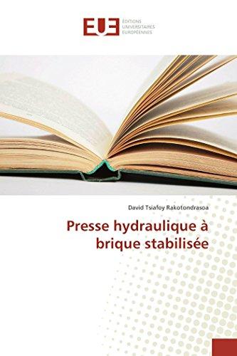 Presse hydraulique à brique stabilisée