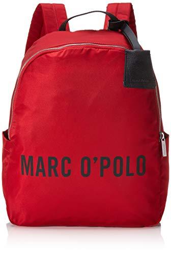 Marc O'Polo Damen Rosalie Rucksack Rot (Red)
