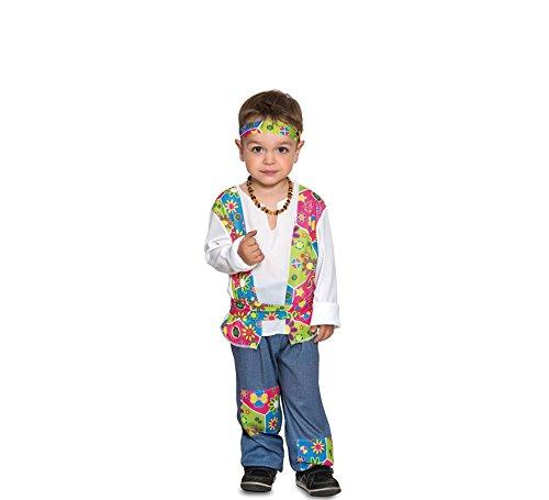 Fyasa Fyasa706384-T00 Disfraz de niño hippie. Talla pequeña ...