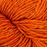 Tahki Donegal Tweed (Worsted Weight Yarn, 100% Irish Wool) - #873 Burnt Orange
