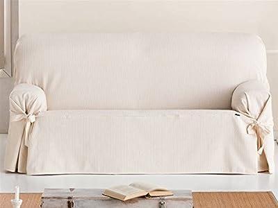 Lanovenanube Eysa - Funda Sofa Universal Bianca 2 plazas