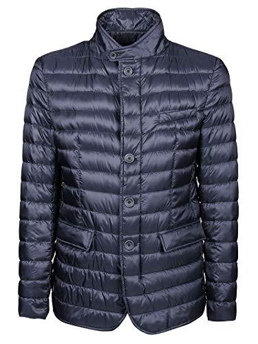Herno Luxury Fashion Uomo PI0539U120209200 Blu Poliammide Piumino   Primavera-Estate 21