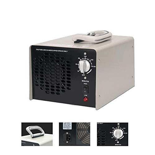 Generador De Ozono Comercial 240 W, 30 MG/H Industrial Ozon Purificador De Aire, Ozonisator con Temporizador para Habitaciones, Humo, Animales Domésticos Voltaje 220V / 50Hz
