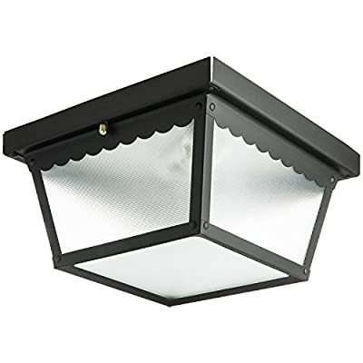 Sunlite 9-Inch Ceiling Mount Outdoor Porch Fixture