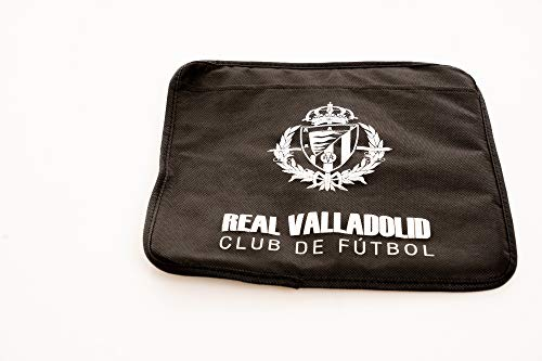 REAL VALLADOLID CLUB DE FÚTBOL Almohadilla Asiento, género, Negro, No predeterminado