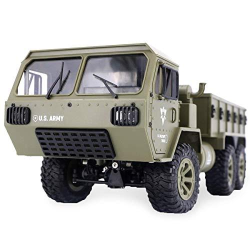 RC Camión Militar, 1/12 6WD Radio Control Todo Terreno Cont