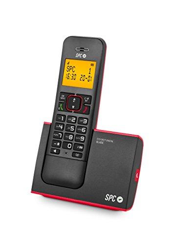 SPC Telecom Tel317290R - Teléfono Inalámbrico, Dect SPC Telecom Blade 7290, Rojo