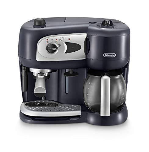DeLonghi BCO 260.CD.1 Independiente Manual - Cafetera (Independiente, Cafetera combinada, 2,6 L, Dosis de café, De café molido, Negro)