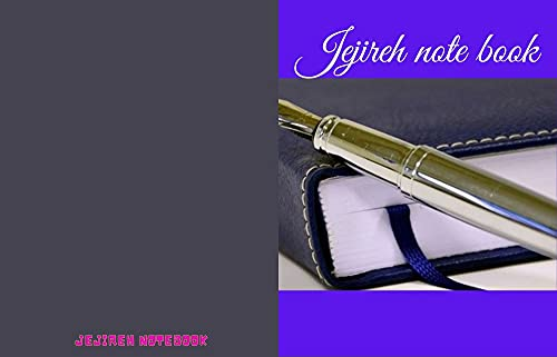 Jejireh note book (English Edition)