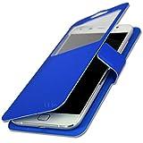 Alcatel One Touch Idol 2 Mini S Etui housse coque folio bleu by PH26