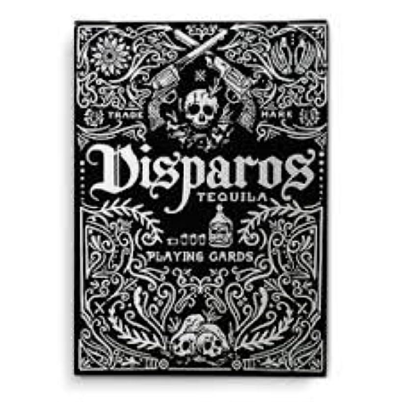 Supernaturalgames Disparos Tequila Black Playing Cards by Ellusionist