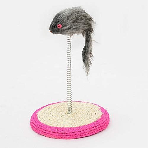 Japan Maker New Minyangjie Pet Toys Great Cat Spring Seat Playing Sisal Mail order cheap