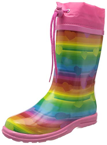 Beck 908 Regenbogen Gummistiefel, Multicolor, 29 EU
