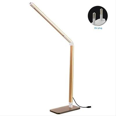 Lámpara de mesa led, luz de noche cálida, luz de escritorio para ...