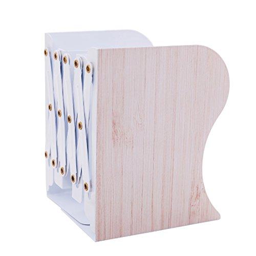 (ヨンツリー)Yontreeブックエンド 本立て ブックスタンド 伸縮可能45cmまで 仕切り 卓上収納ラック ファイ...