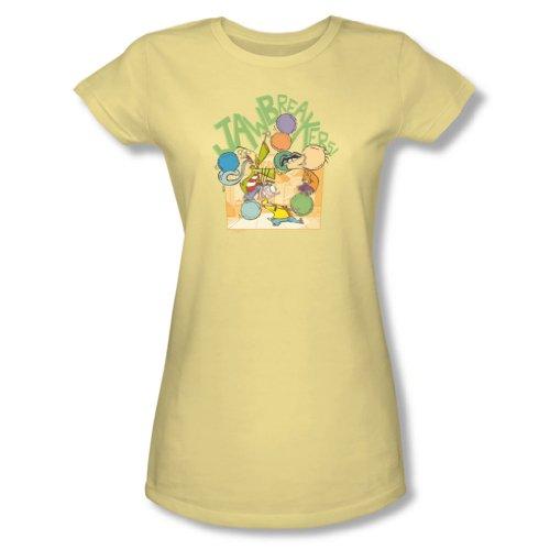 Ed, Edd N Eddy–Donna Jawbreakers t-Shirt in Banana Banana Medium