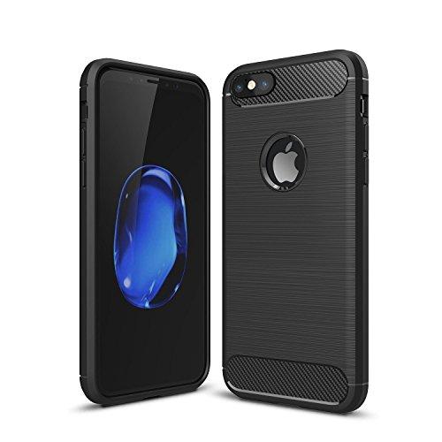 ZOFEEL Funda para iPhone 6 6s, Absorción de Choque Resistente y diseño de Fibra de Carbono Funda Case…