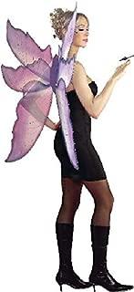 Silver Purple Wings Fairy