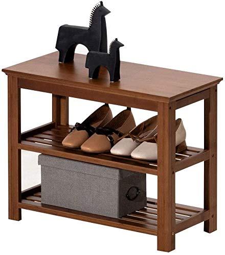 ZouYongKang Gabinete de Zapatos Entrada Hogar de una Sola Capa Zapato Cambio de Taburete Tienda Staquilla Rack Zapato Armario Multifuncional Taburete (Size : 60cm)