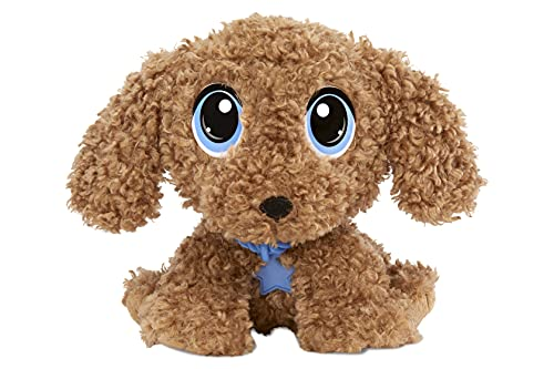 Little Tikes Rescue Tales Babies Goldendoodle Plush Toy with Collar, Tag, Doghouse, Stickers, Activities | Ages 3+