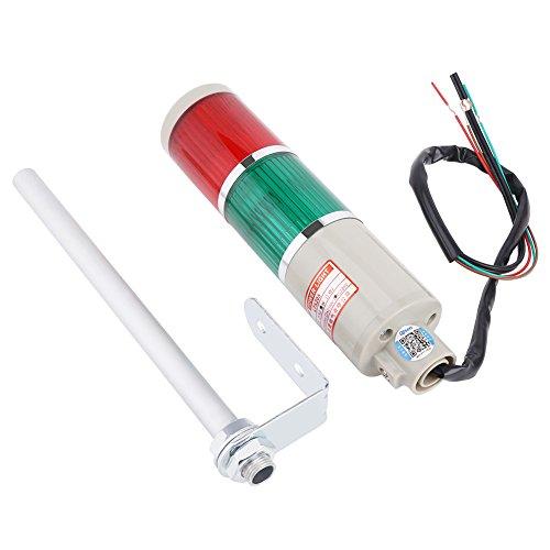 Rojo, luz de baliza verde, 1pc LED de advertencia rojo/verde Equipo de emergencia Bombilla Lámpara de baliza 220V, bajo consumo de energía y tamaño pequeño
