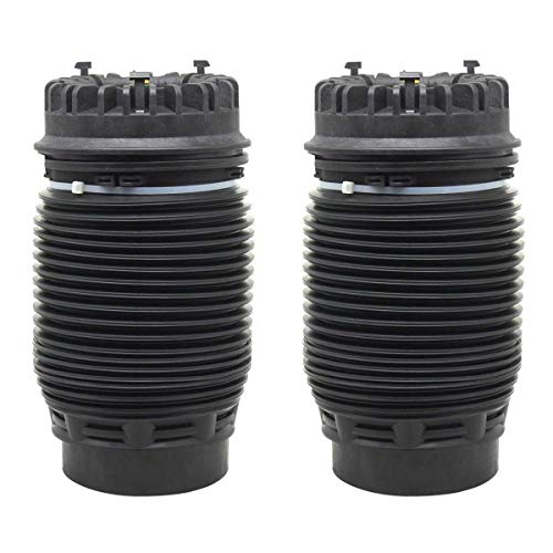 AutoShack KAS281D17RPR Pair of 2 Rear Driver and Passenger Side Shock Absorber Air Ride Suspension Spring Bag Replacement for 2013-2019 Ram 1500 3.0L 3.6L 3.7L 4.7L 5.7L 4WD RWD