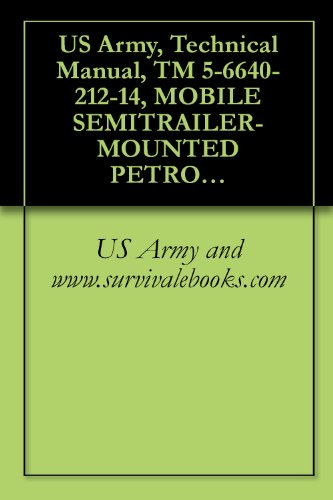 US Army, Technical Manual, TM 5-6640-212-14, MOBILE SEMITRAILER-MOUNTED PETROLEUM LAB, (NSN 6640-00-538-2736) (English Edition)