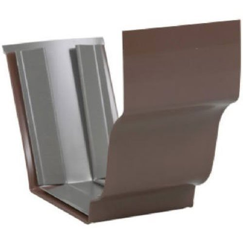 AMERIMAX HOME PRODUCTS 2520919 5-Inch Aluminum Slip Joint, Brown by Amerimax Home Products