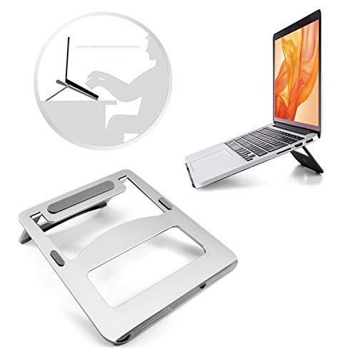 Desire2 Supporto da Scriv Portatile Portatile Supporto da banco da Viaggio per Laptop da 10 a 15 Pollici Compatibile con MacBook Air PRO PC Apple ASUS Lenovo Samsung Sony e Molti Altri