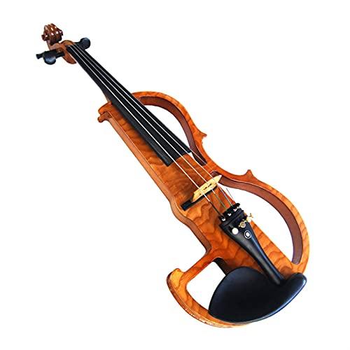 violín Fibra De Carbono Superior 4 4 Estudiante Profesional Violín Eléctrico Kit de violín