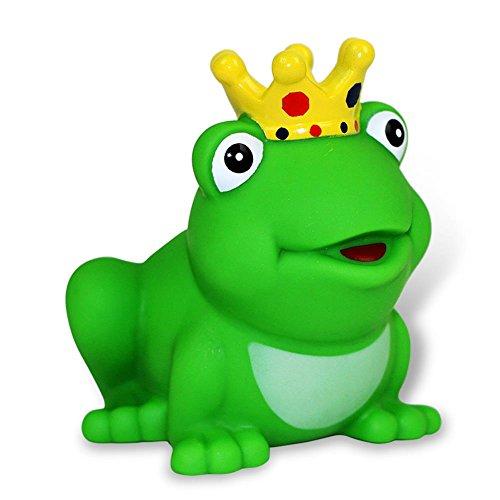 Lilalu 8x 8cm/50g Sammler und Frosch Prince Gummi Ente Baby Badespielzeug