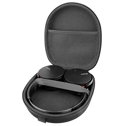 Linkidea Headphone Case for Sony MDR XB950B1 XB950N1 XB950BT XB650BT,Sony WH-CH500, WHCH500/B, WH-CH510 Carrying Case / Travel Bag (Classic)