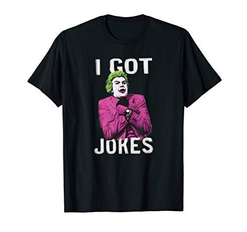 Batman Classic TV Series The Joker Got Jokes T-Shirt