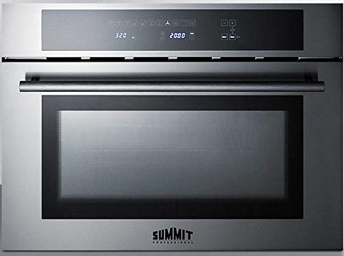 Summit CMV24 Wall Oven, Stainless Steel