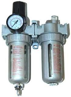TCP Global Professional Air Filter, Regulator and Lubricator Control Unit (1/4
