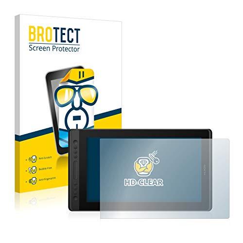 BROTECT Protector Pantalla Compatible con Huion Kamvas Pro 16 Premium Protector Transparente Anti-Huellas