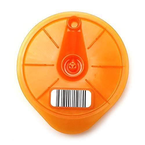 Aqualogis - Disco en T naranja compatible con Tassimo Caddy, Charmy, My Way, Joy, Happy, Bosch Brown