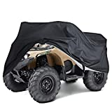 ATV Cover,Waterproof Winterproof Dust Rain Heavy Duty Power Quad Bike Cover Outdoor Universal UV Protection Cover for Most Types of ATV, Quad, Bike Vehicle (210X120X115CM)