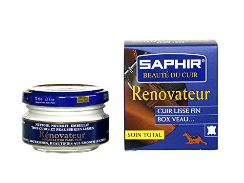 Saphir, Cera renovadora incolora 02, 50 ml, fabricado en Francia