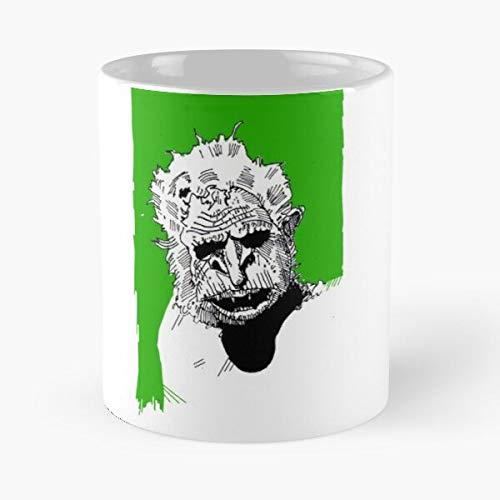 Desconocido Trolls Green Goblins Troll Goblin Vegetarian Go Nilbog 2 Taza de café con Leche 11 oz