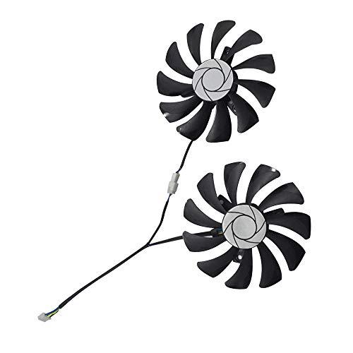 Casinlog Ventilador de refrigeración Ha9010H12F-Z, de 4 pines, para Msi GTX 1060 Oc 6G GTX 960 P106-100 P106 Gtx1060 Gtx960