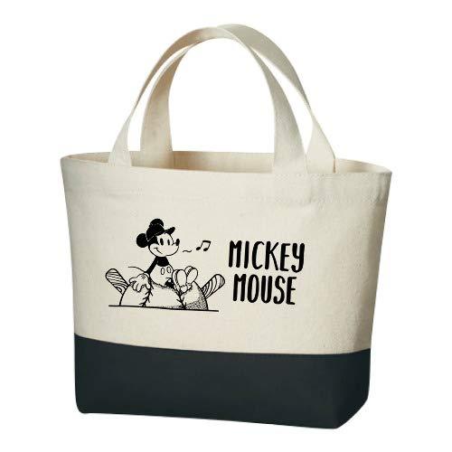 NPB 北海道日本ハムファイターズ グッズ Space Age ミッキーマウス(ひとやすみ)×北海道日本ハムファイターズ ランチバッグ (ブラック) -