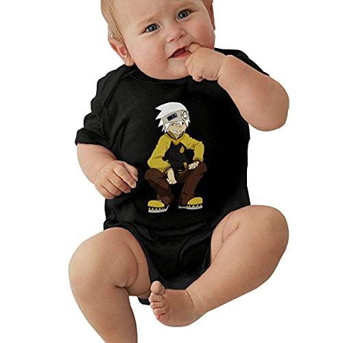 IUBBKI Soul Eater Baby Jumpsuit Jersey Monos Romper Crawling Onesie Pijamas