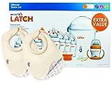 Munchkin Latch Ultimate botella Starter Set con un paquete de Tommee Tippee Closer to Nature alimentación baberos.