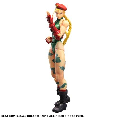Square Enix Super Street Fighter IV - Figurita decorativa de Cammy