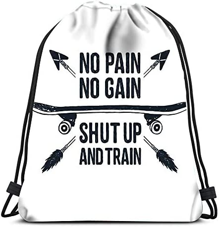 Drawstring Backpack Bags Sports Cinch You And Me Lettering Phrase In Golden Style Design Element String Backpack Bulk Storage Bags For School Gym
