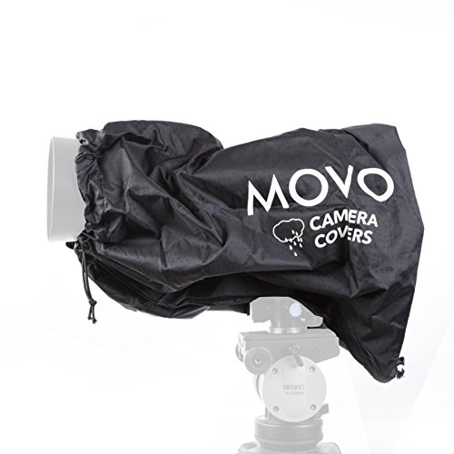 Movo CRC17 Storm Raincover Protector for DSLR Cameras, Lenses, Photographic Equipment (Small Size: 17 x 14.5)