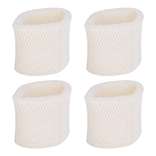 4 Pack of Humidifier Replacement Filters for Honeywell Filter HAC504, HAC504AW, Filter A - Fits Honeywell Humidifier HCM350, HCM350W, HCM350B, HCM-710, HCM1000, HCM2000 and other Cool Mist Humidifiers