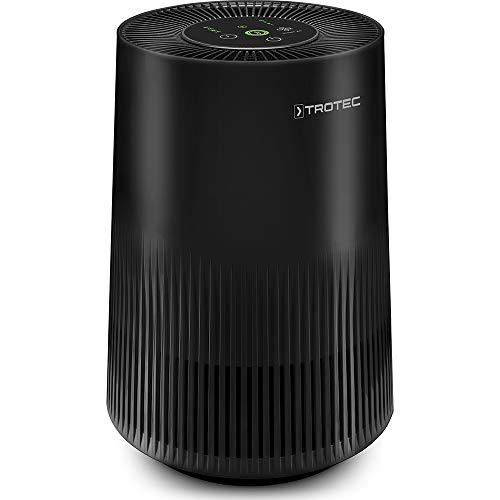 TROTEC Luftreiniger AirgoClean 11 E mit 3-in-1-HEPA-Filter Entfernt zu 99,97% Viren, Bakterien, Feinstaub und Allergene in Räumen bis zu 15 m² / 38 m³, Reinigungsvolumen max. 120 m³/h