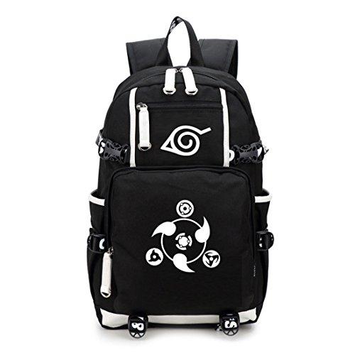 YoyosHome Tagesrucksack, Schultasche, japanisches Anime / Cosplay Naruto